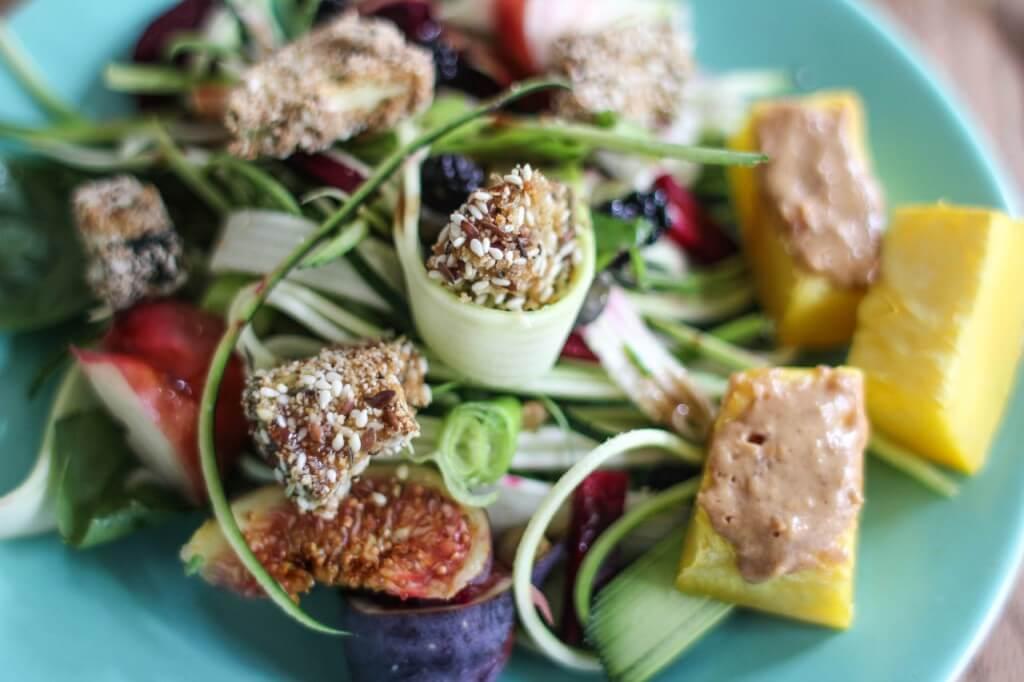 crunchy zucchini salad