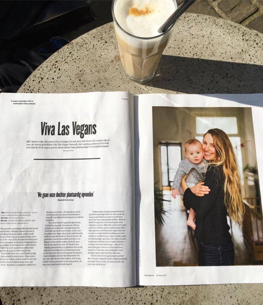 elisabeth van lierop nala delneke plant based the vegan network de morgen magazine
