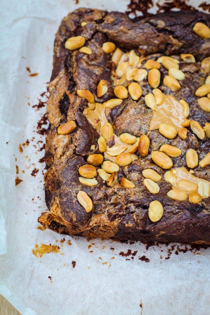 vegan plantbased brownie recept