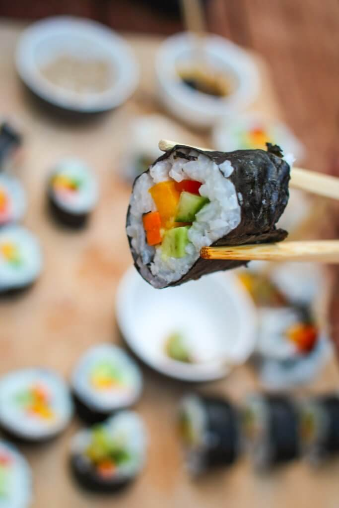 plantbased sushi